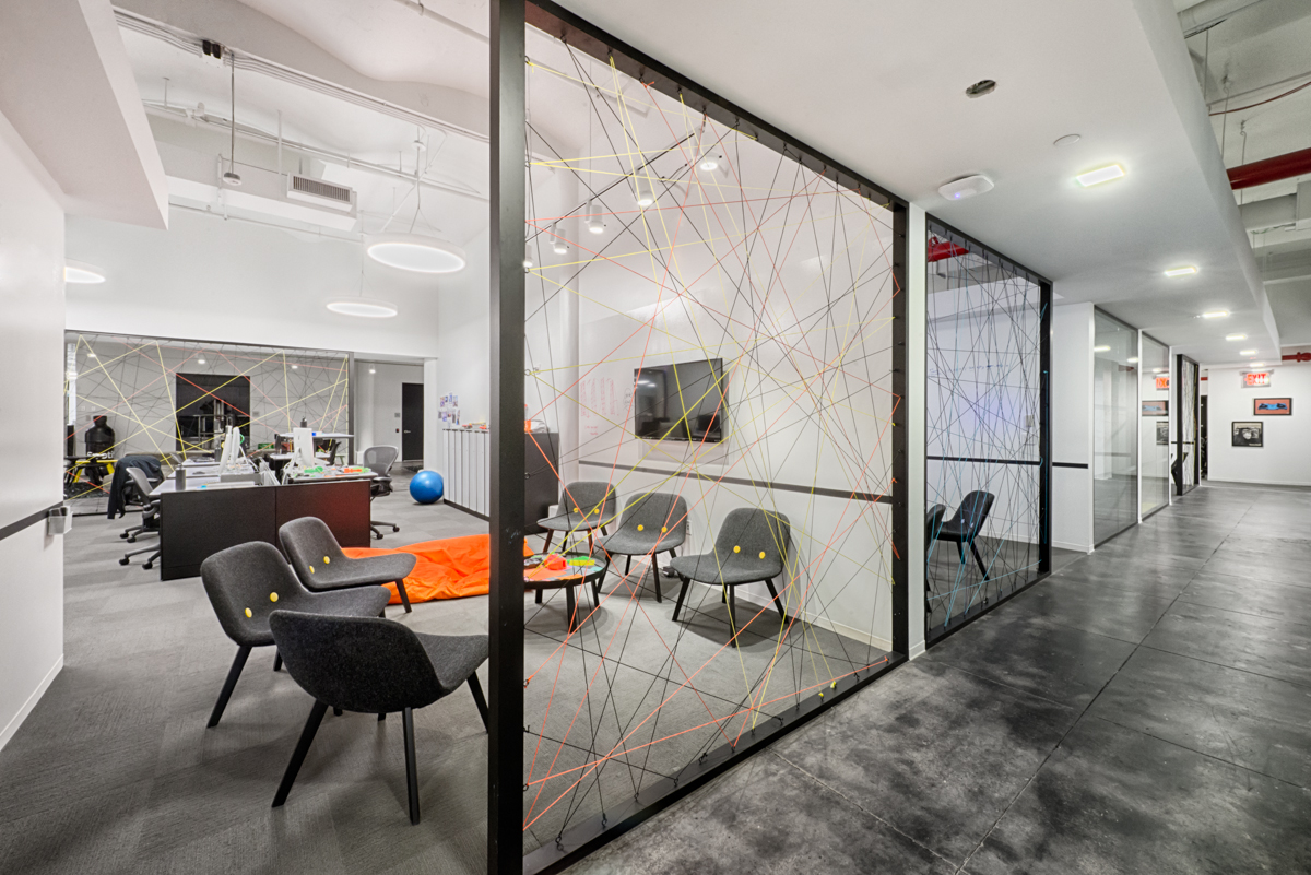 The wonderfully designed offices of spotify in new york for Office images