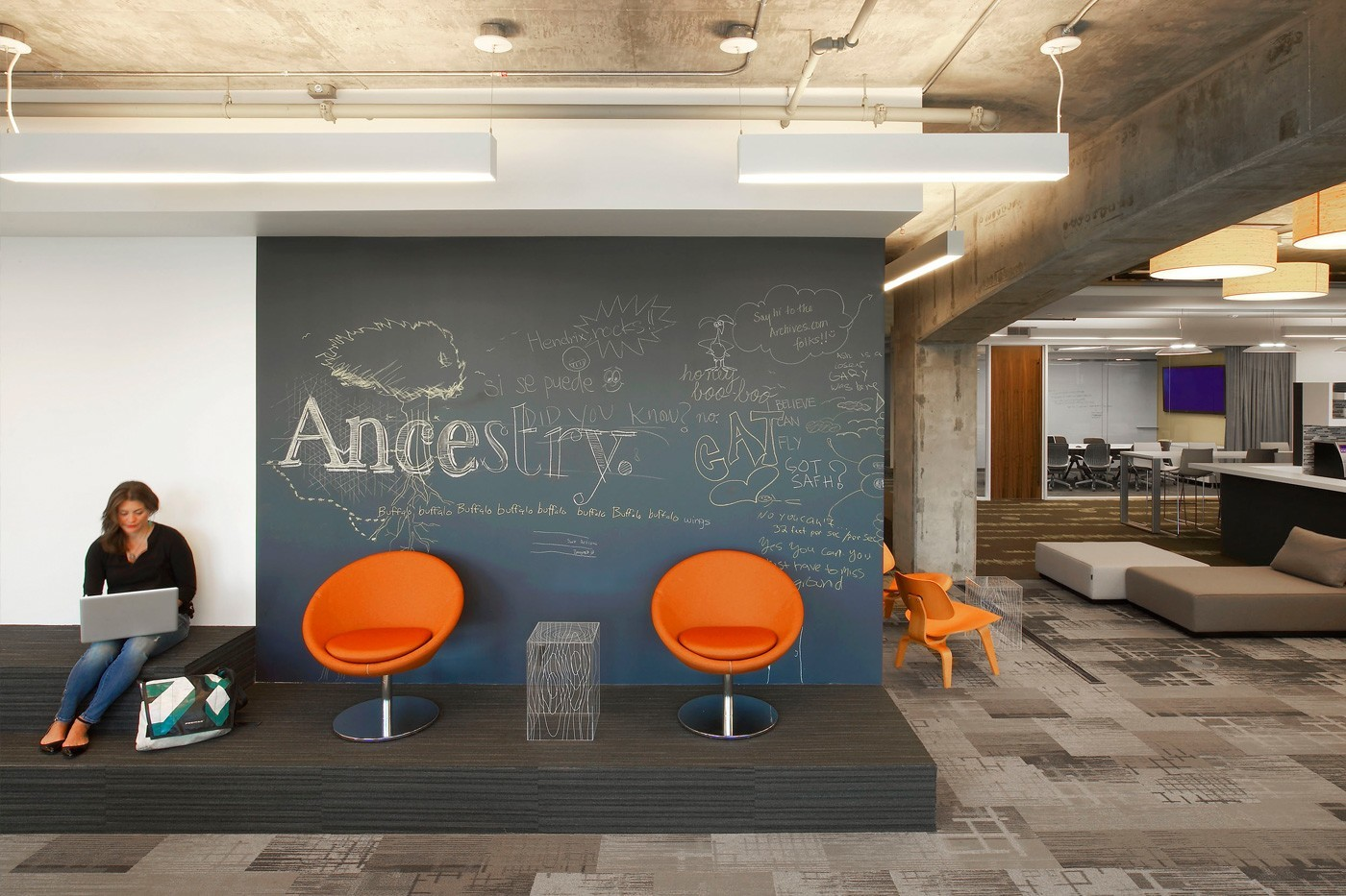 Inside Ancestry's San Francisco Offices