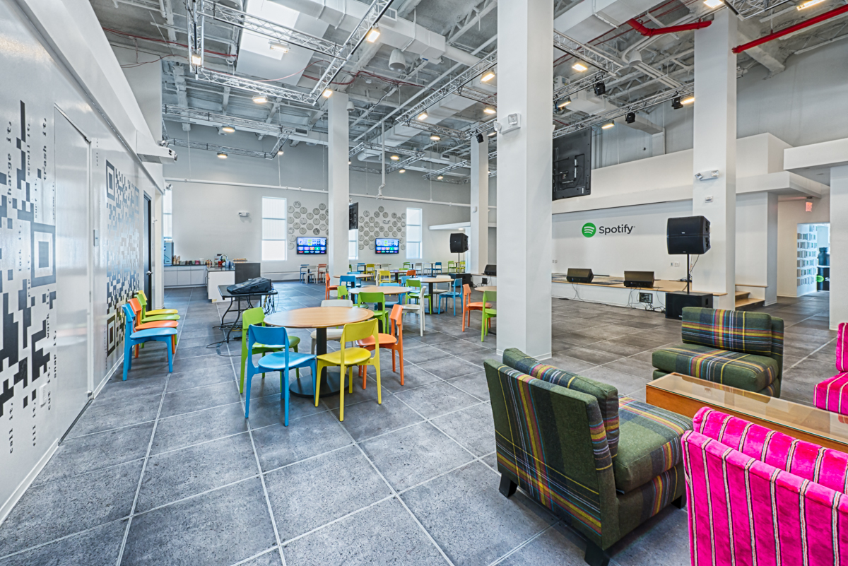 The Wonderfully Designed Offices Of Spotify In New York City