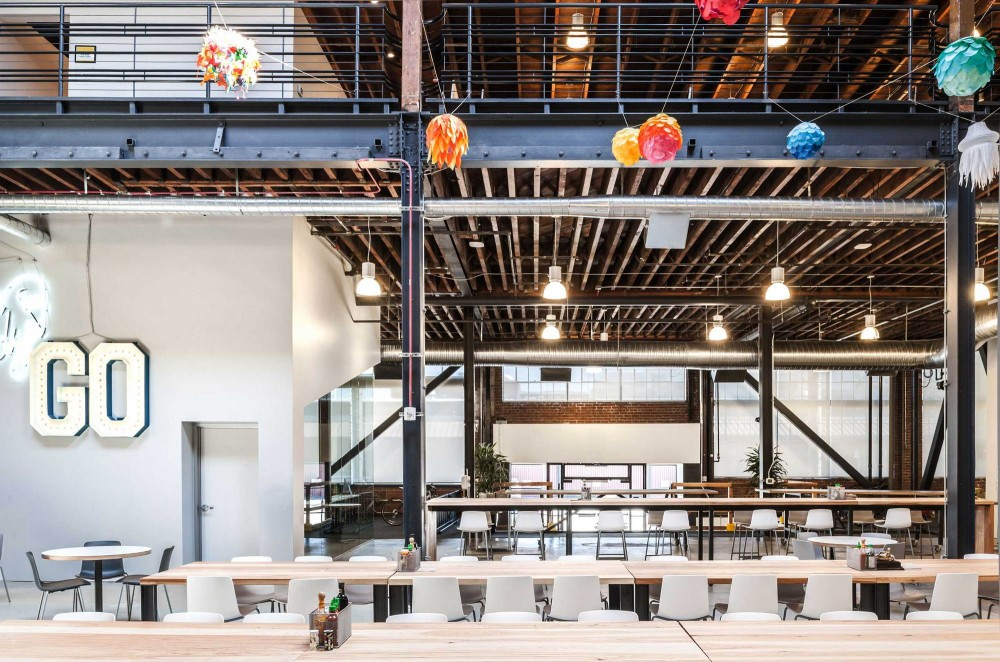 Pinterest's trendy headquarters in San Francisco's SoMa neighborhood
