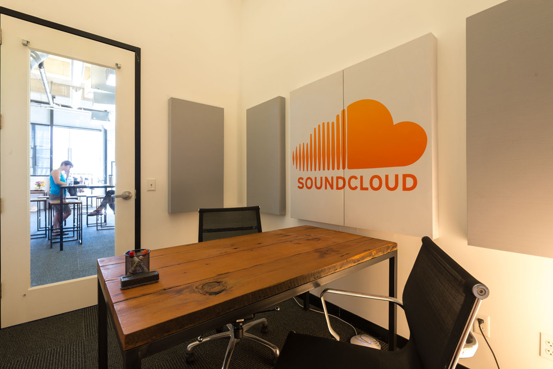 soundcloud offices in berlin and san francisco officelovin. Black Bedroom Furniture Sets. Home Design Ideas