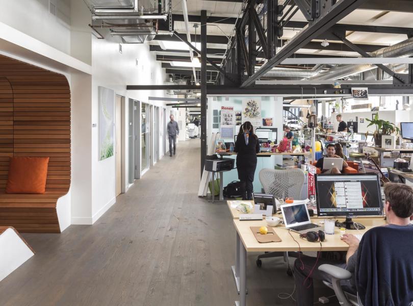Inside Just Eat's London Office - Officelovin'