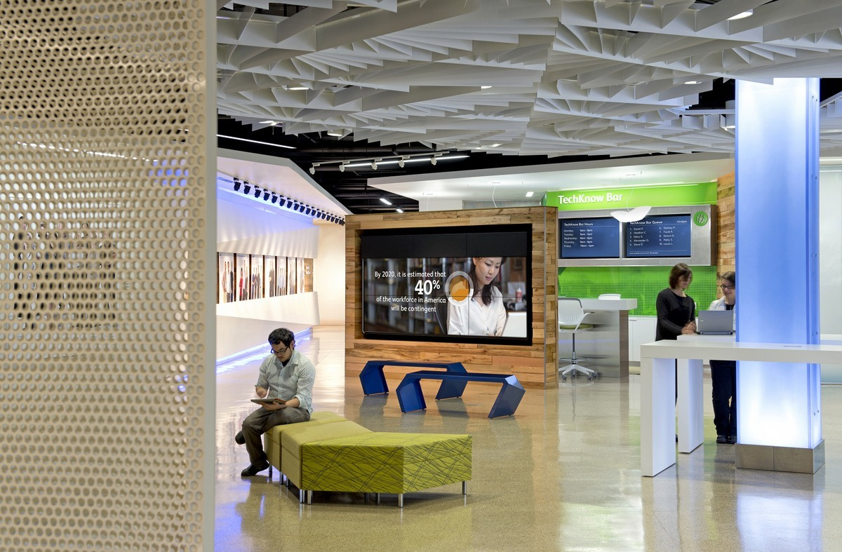 Take A Look Inside Intuit's Mountain View Campus