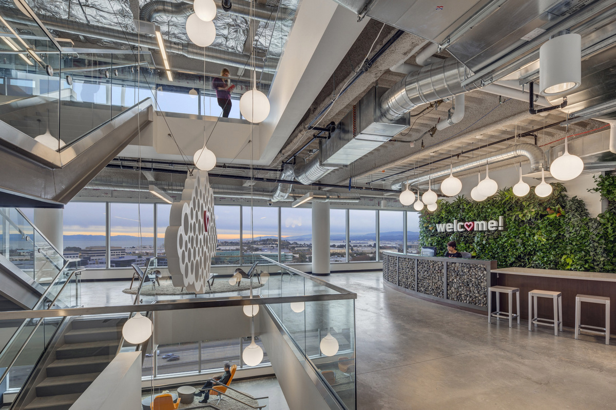 Successfactors global headquarters in san francisco officelovin Interior design companies in san francisco
