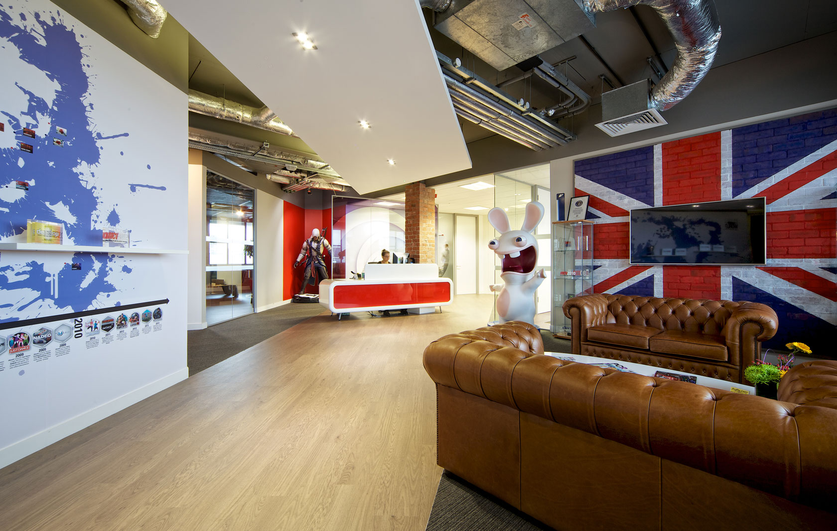 Take A Tour Of Ubisoft S Guildford Office Officelovin