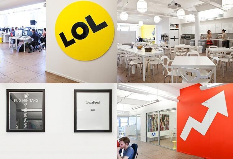 BuzzFeed's Flatiron District Headquarters