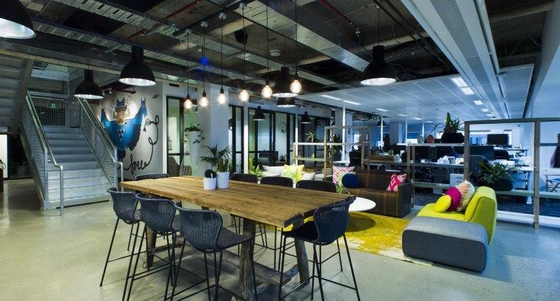 Facebook offices - Officelovin