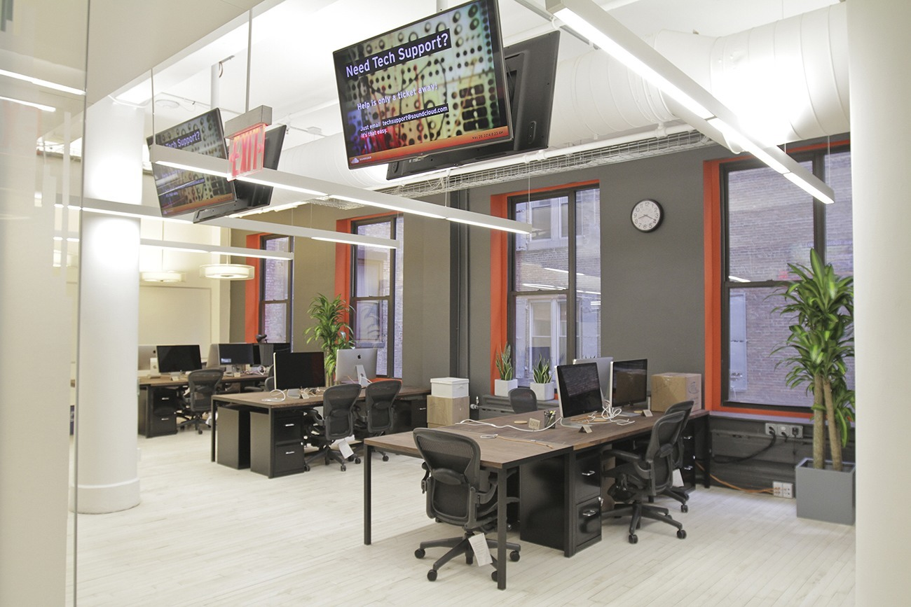 Another look inside soundcloud s new york city office for Office design new york
