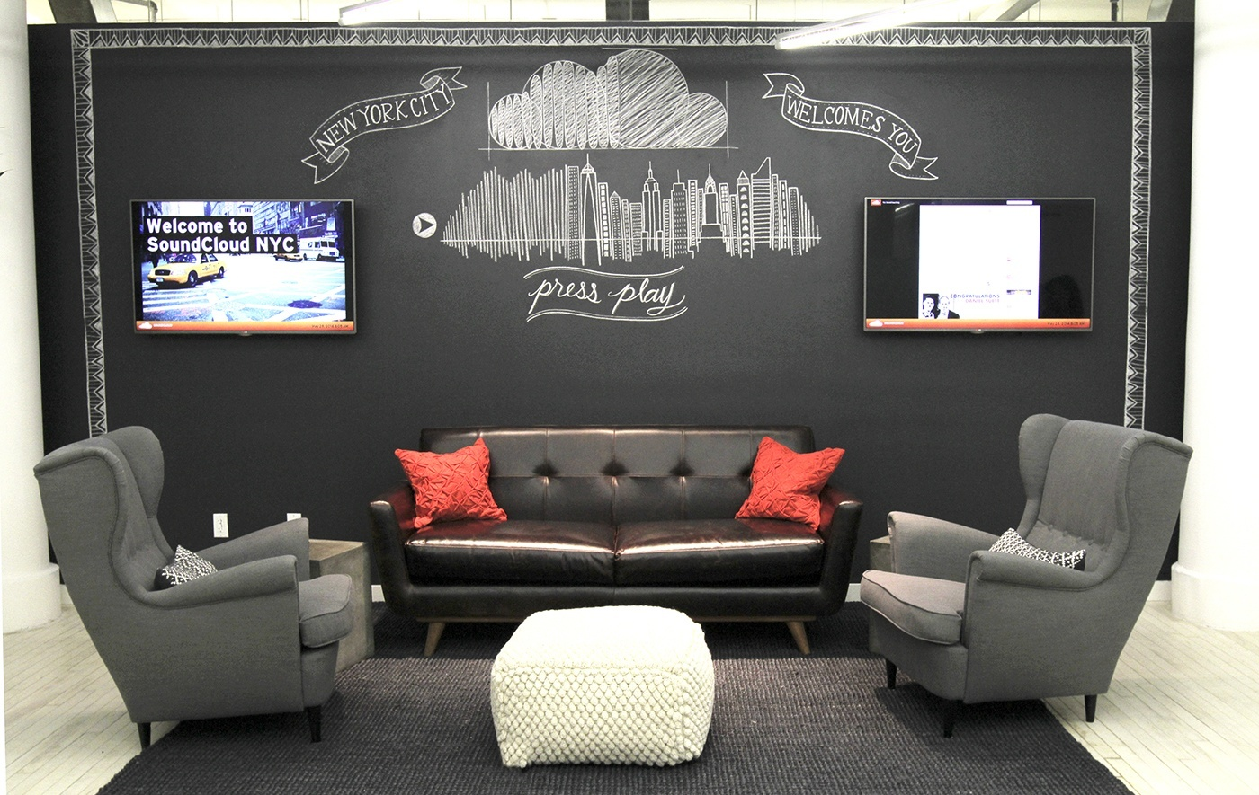 Take a Look at SoundCloud's New Office in New York City