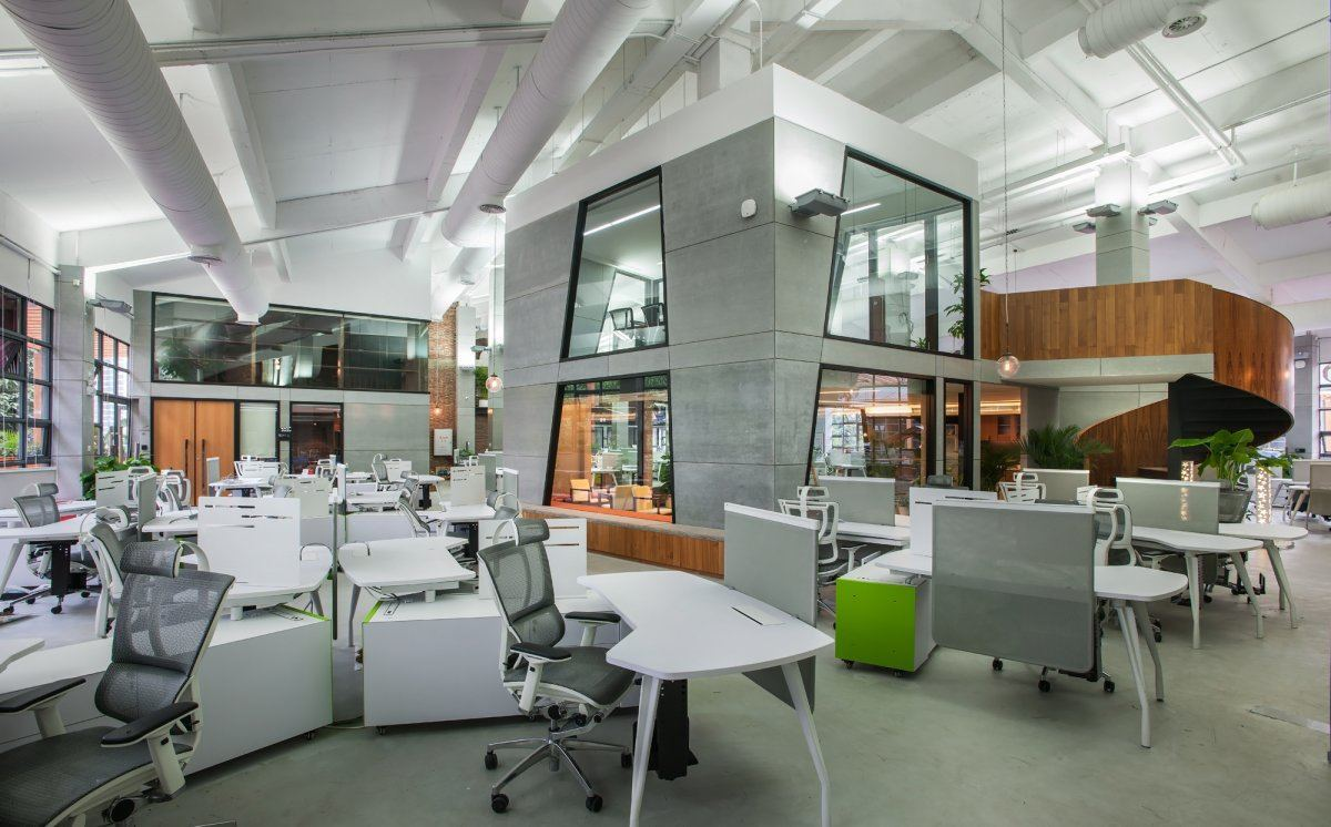 Inside Amazing Offices Of Tencent By M Moser Associates