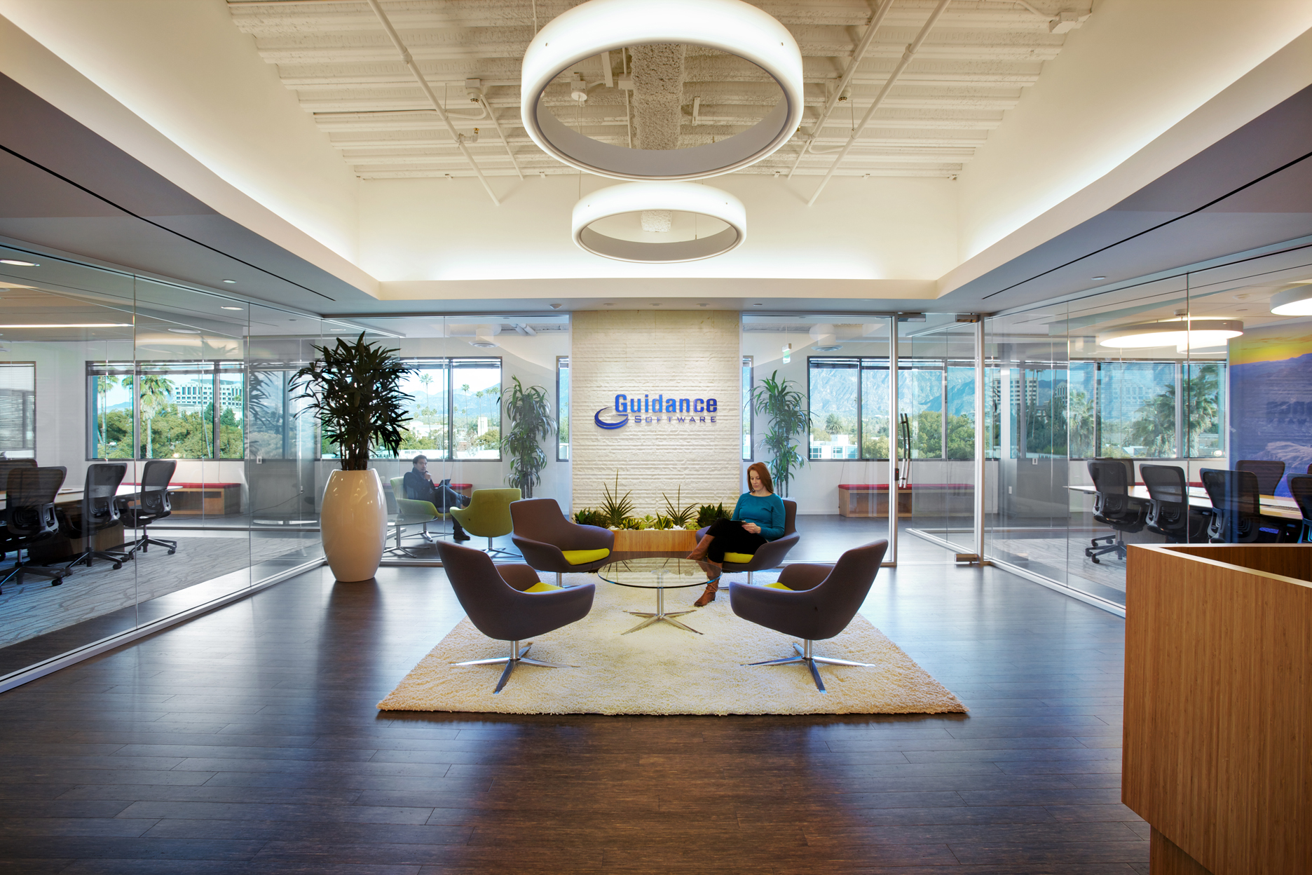 Inside Guidance Software's Pasadena Offices