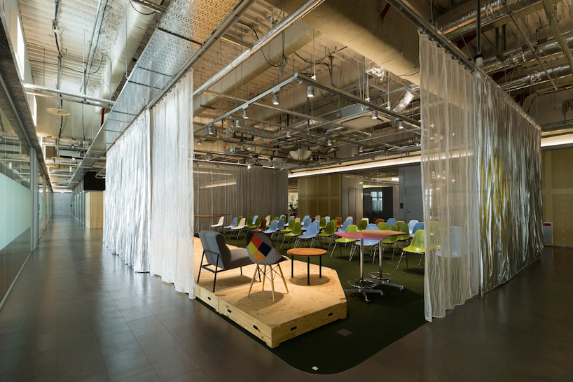 Koil coworking space for startups by naruse inokuma for Space architecture