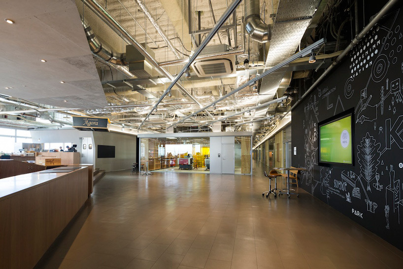 Koil coworking space for startups by naruse inokuma for Lab architects