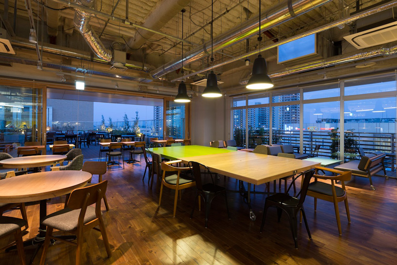 KOIL – coworking space for startups by Naruse Inokuma Architects