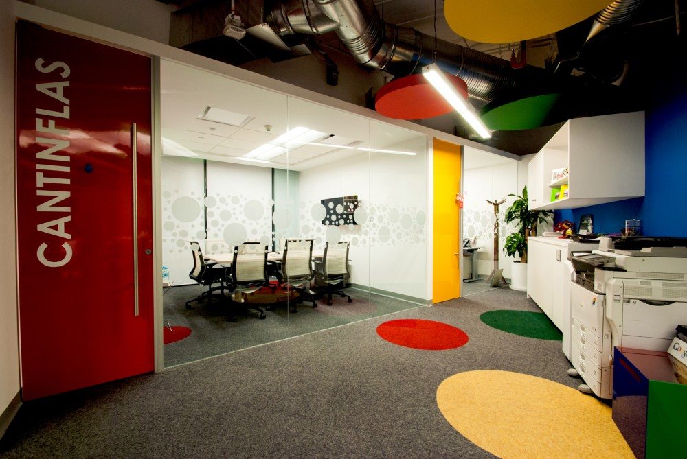 Google s new mexico city offices officelovin 39 for Axa oficinas