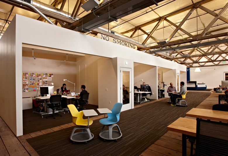 Ideo san francisco offices by jensen architects officelovin 39 for Office design usa