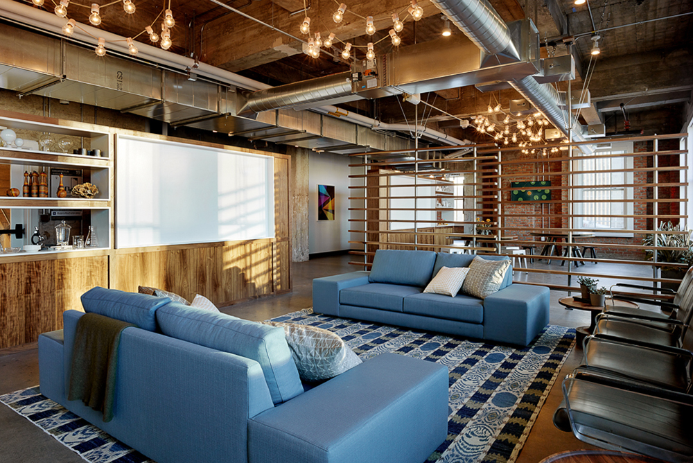 Take a look at lumosity s new san francisco headquarters for Design companies in san francisco