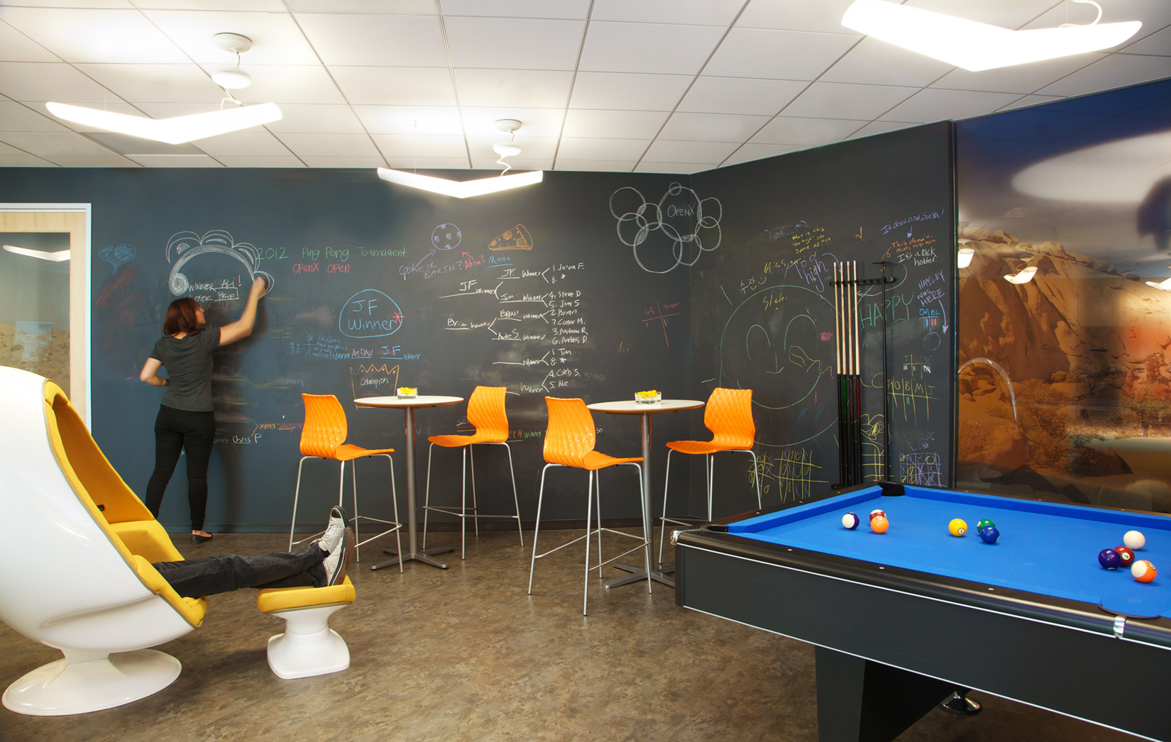 Inside Openx S Pasadena Headquarters Officelovin