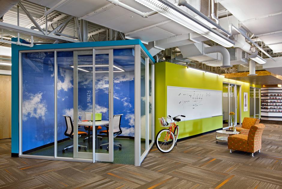 Inside snagajob s richmond headquarters officelovin 39 for Interior design temp agency