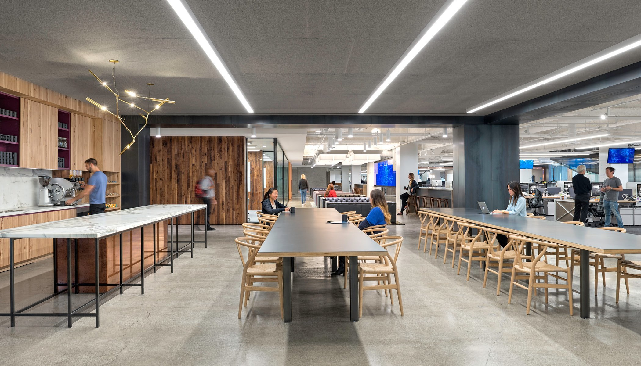 Inside uber s new san francisco headquarters officelovin 39 for Mash studios lax