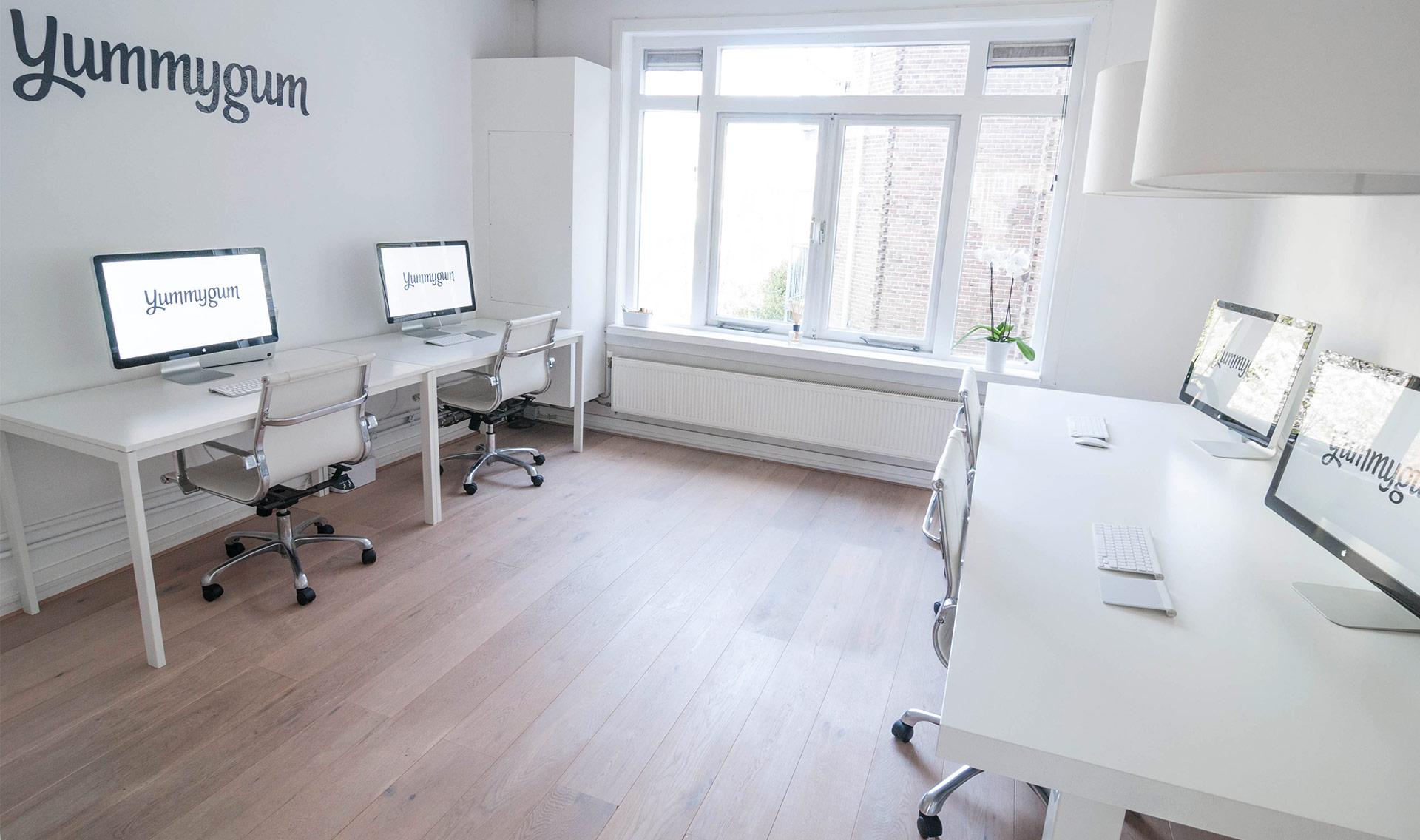 Inside Yummygum's Amsterdam Office