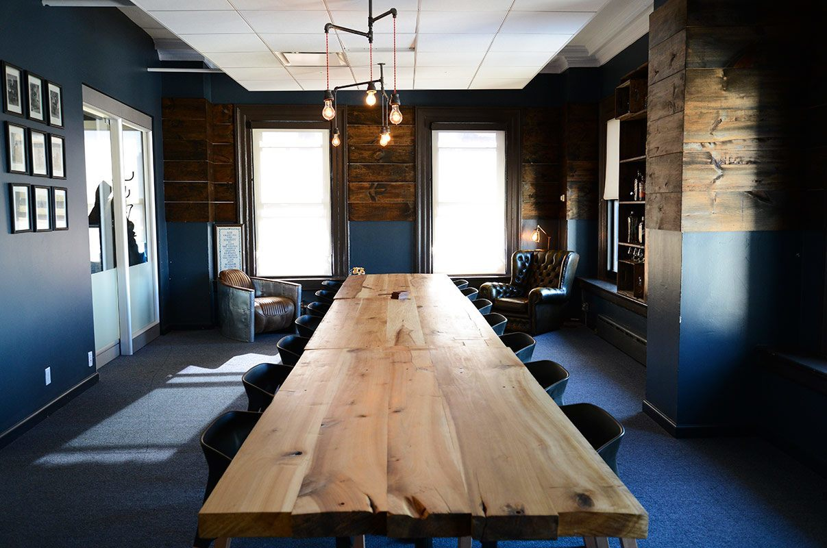 Fueled collective startup coworking space in soho nyc for Interior design startup