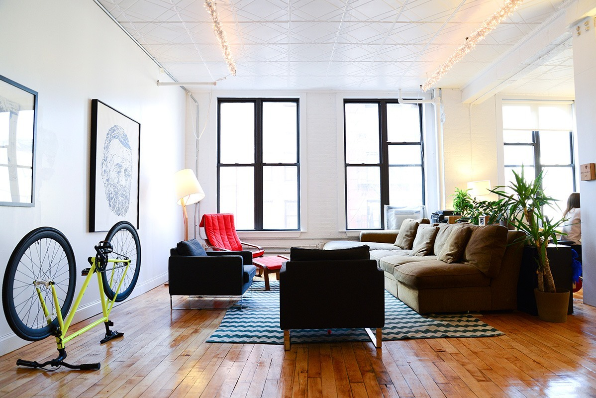 Inside cantora s new york city office officelovin 39 for Lads bedroom ideas