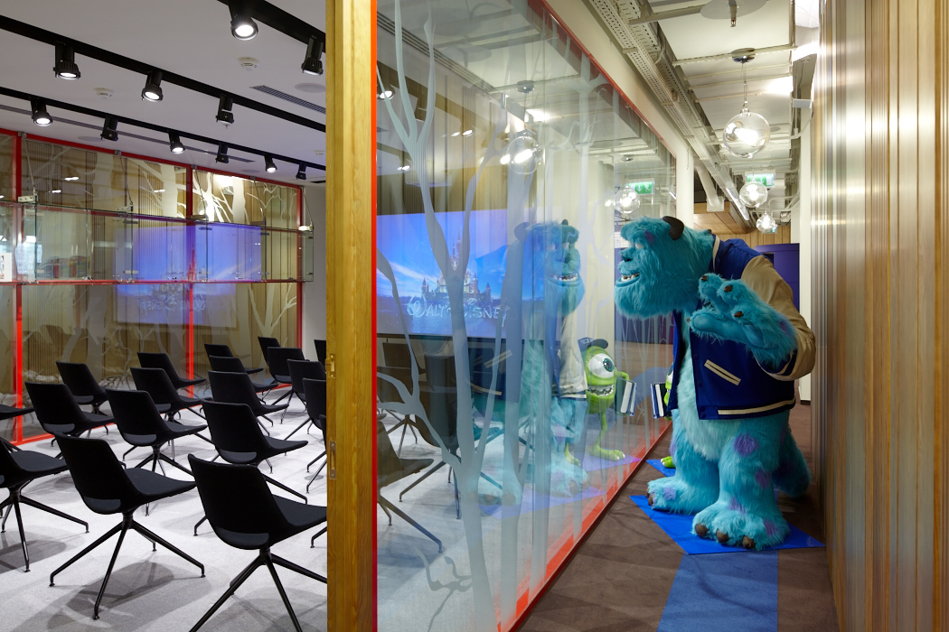 Disney's Moscow Offices by UNK project
