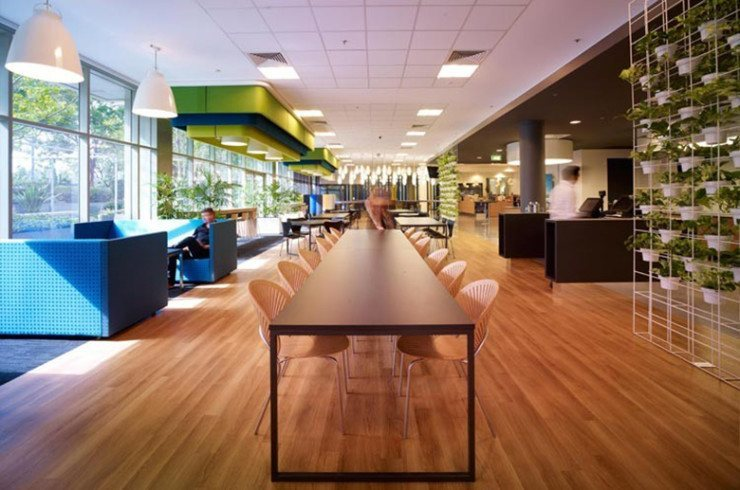 A peek inside microsoft s sydney offices officelovin for Interior design agency sydney
