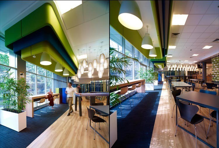 A peek inside microsoft s sydney offices officelovin 39 for Interior design agency sydney