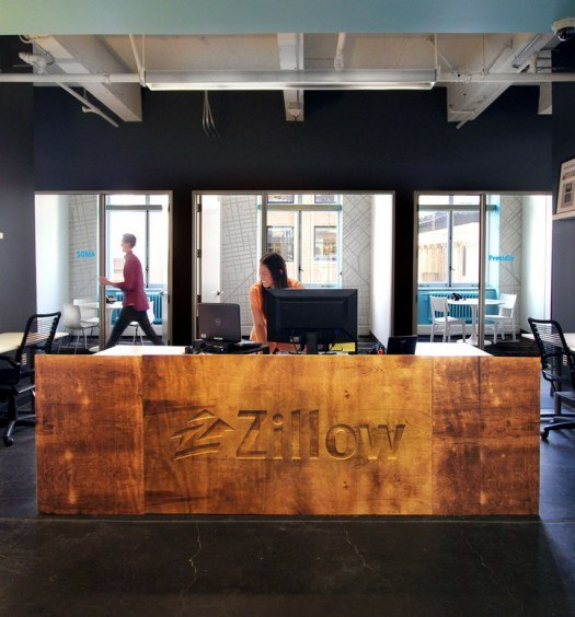 A look inside fis new modern office in san francisco for Zillow new york office