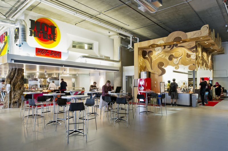 Take a look at zynga s san francisco headquarters for Zynga office design
