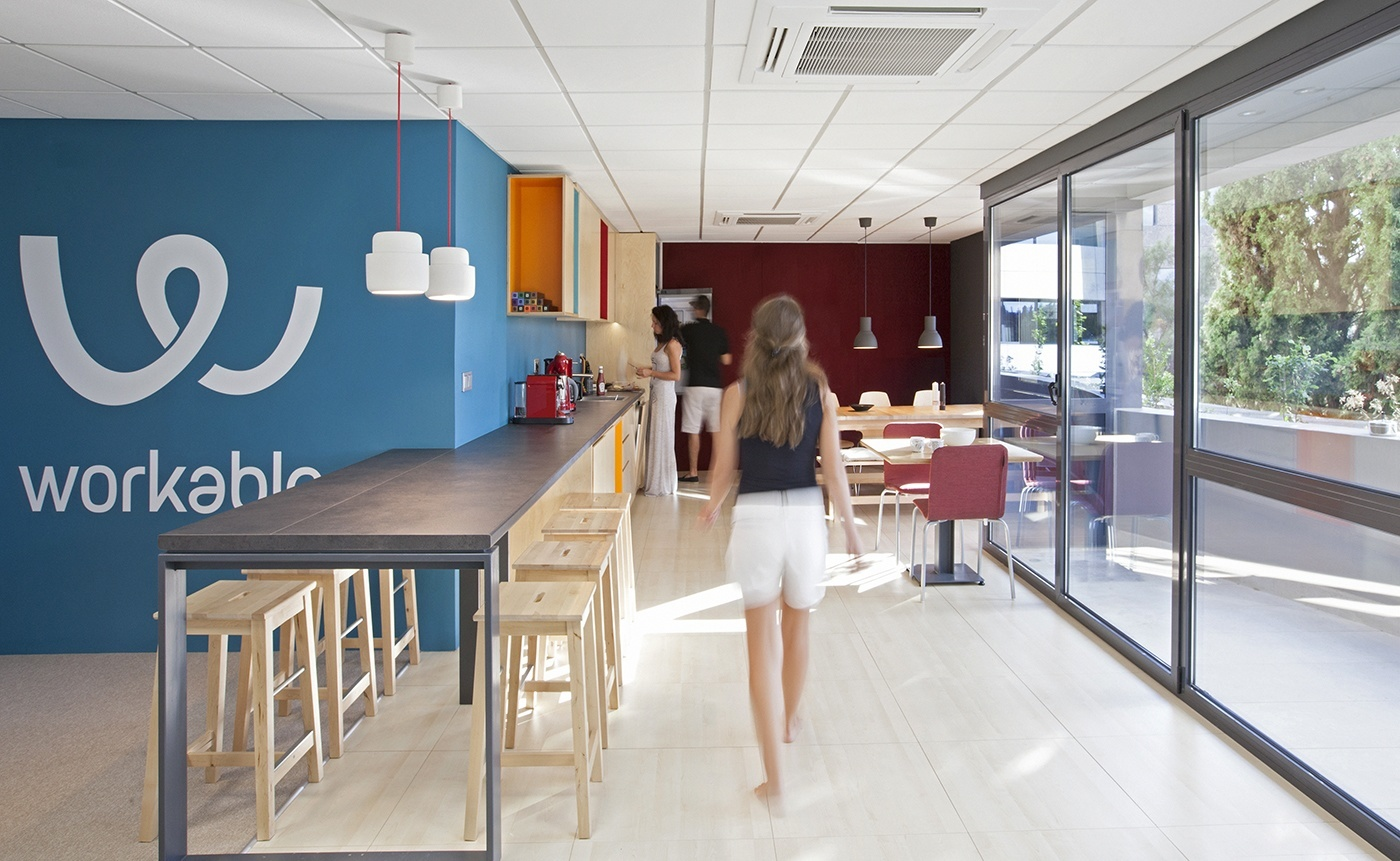 Take a Peek Inside Workable's Athens Offices