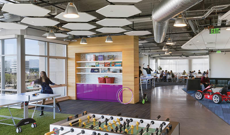 Inside GoDaddy's Sunnyvale Offices