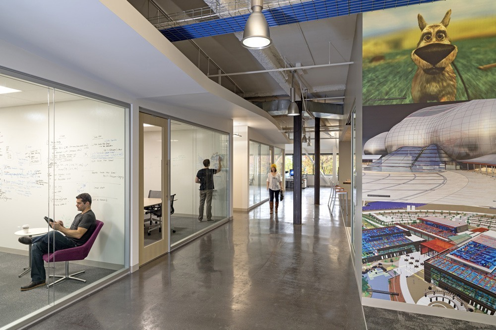 Autodesk S San Rafael Offices By Huntsman Architectural
