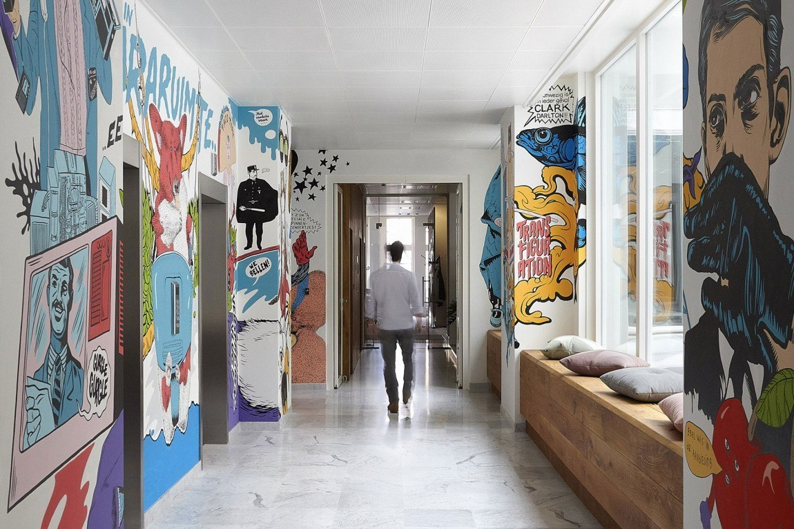 Perfect Jwt New York Office The Amsterdam With Decorating Ideas