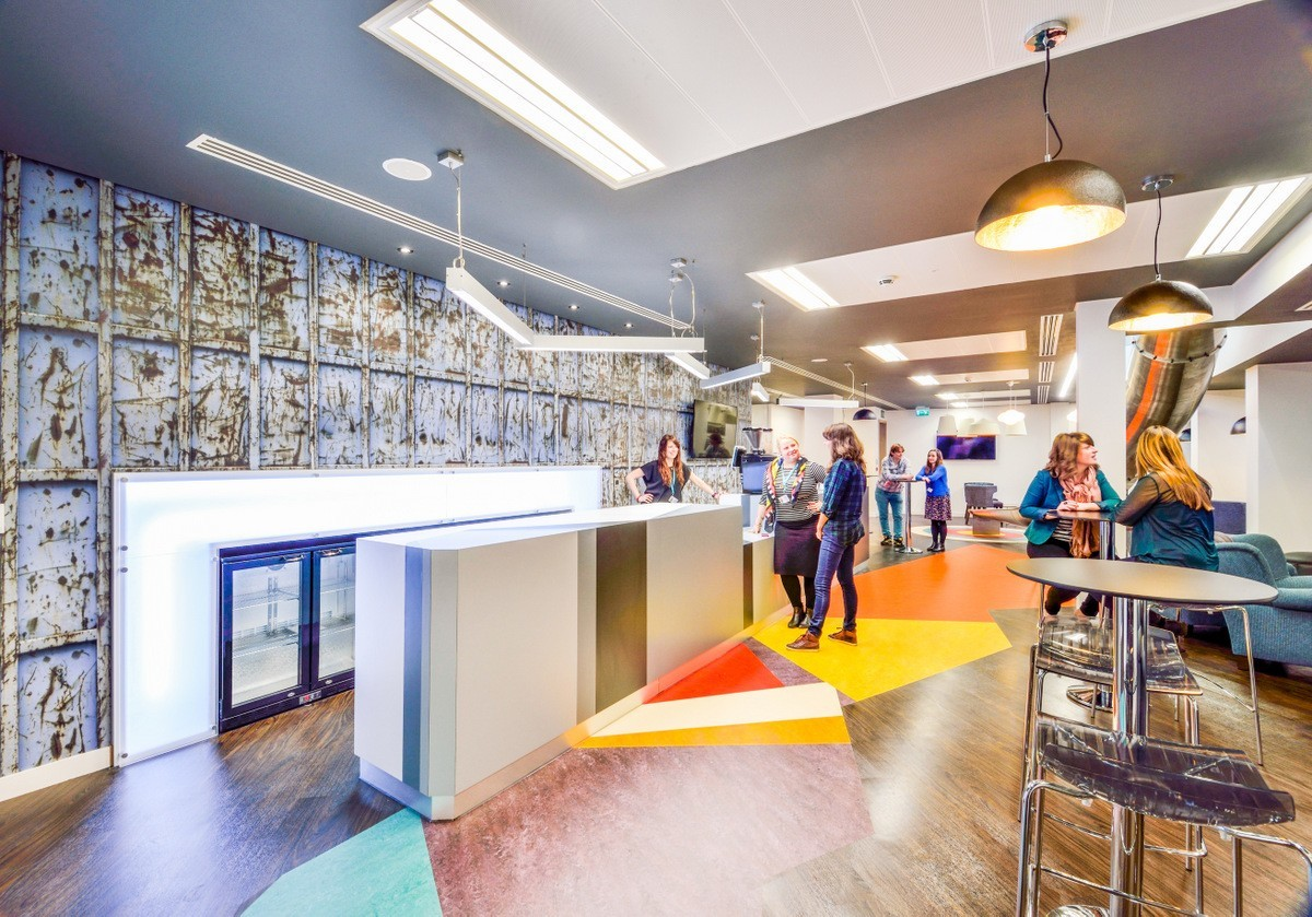 A Look Inside Ticketmaster's London Offices