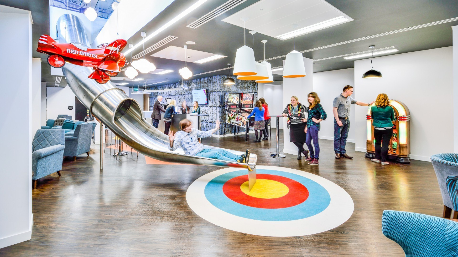 Google Office In London A Look Inside Ticketmaster's London Offices  Officelovin'