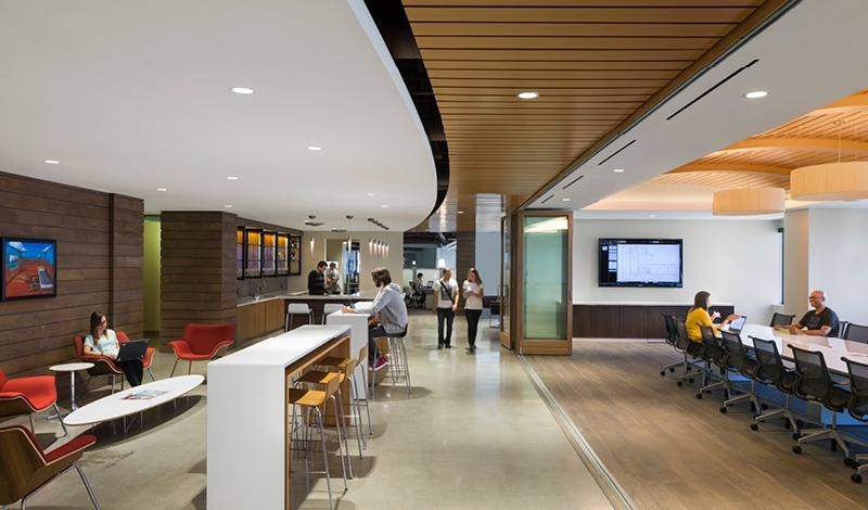 A look inside bluebeam software s pasadena office for Office interior design software