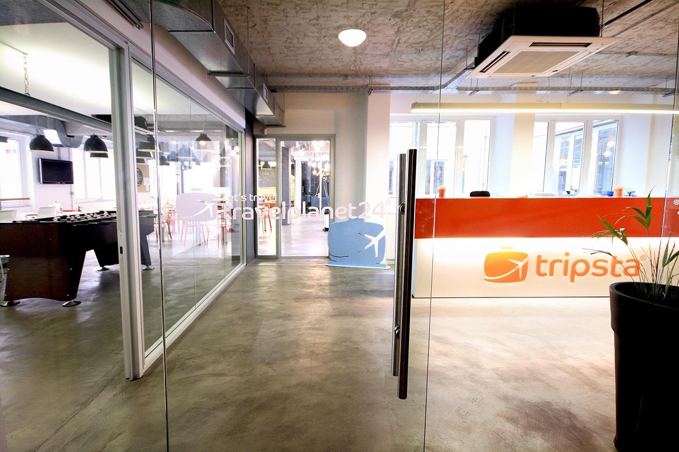 Travelplanet24/Tripsta's Athens Headquarters