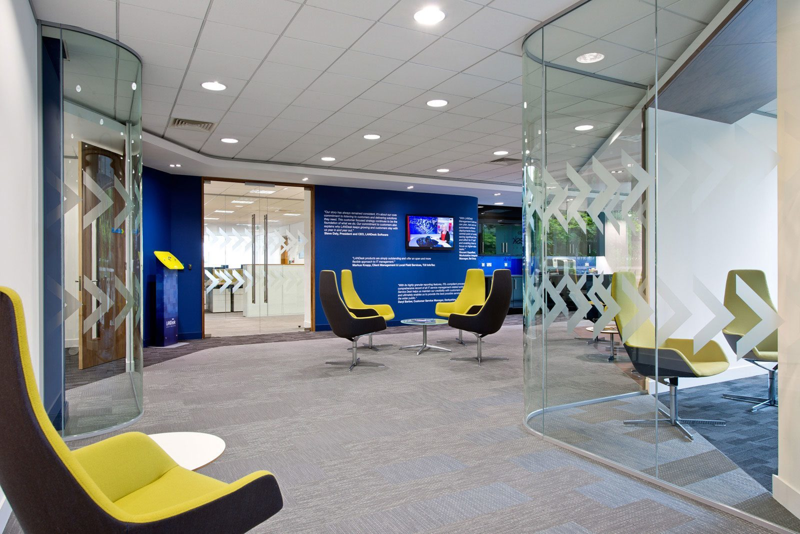 A Quick Look Inside LANDesk's Bracknell Offices