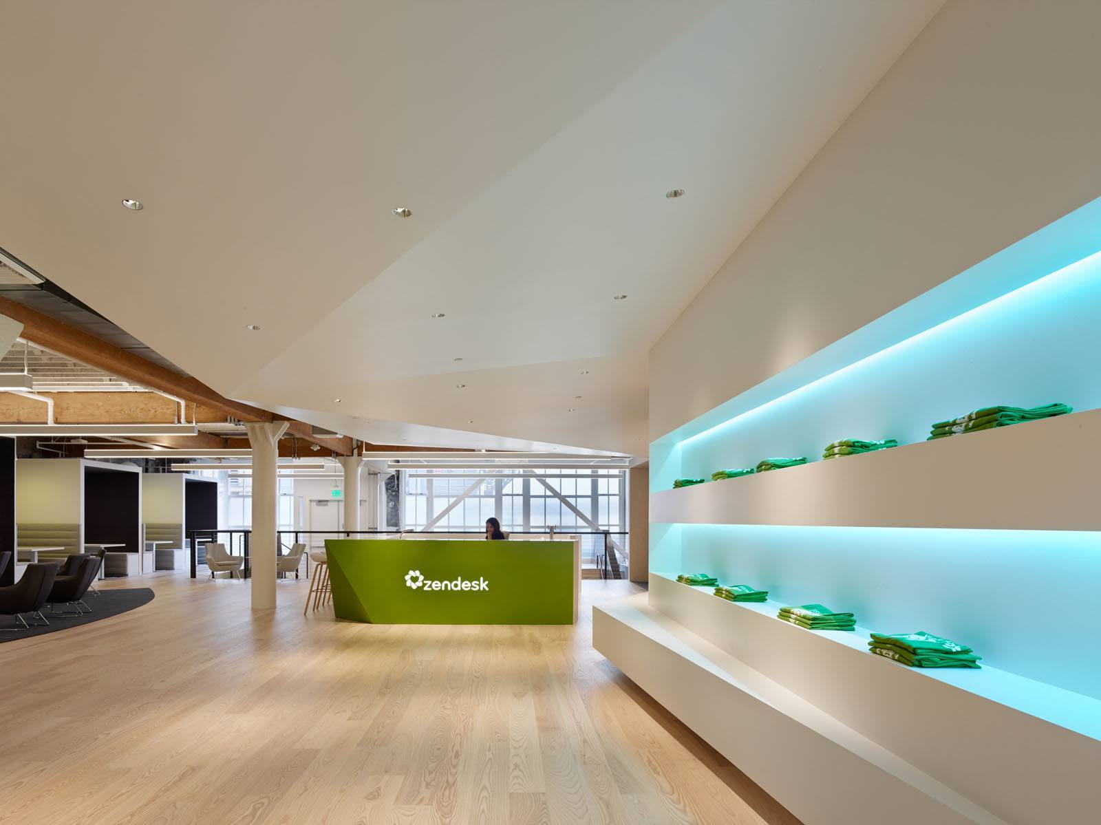 office lobby design. Zendesk \u2013 San Francisco Office Lobby Design 5