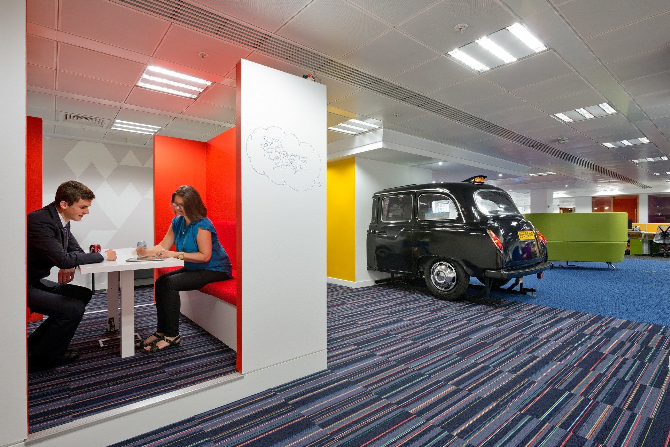 Inside Boxs London Offices Officelovin