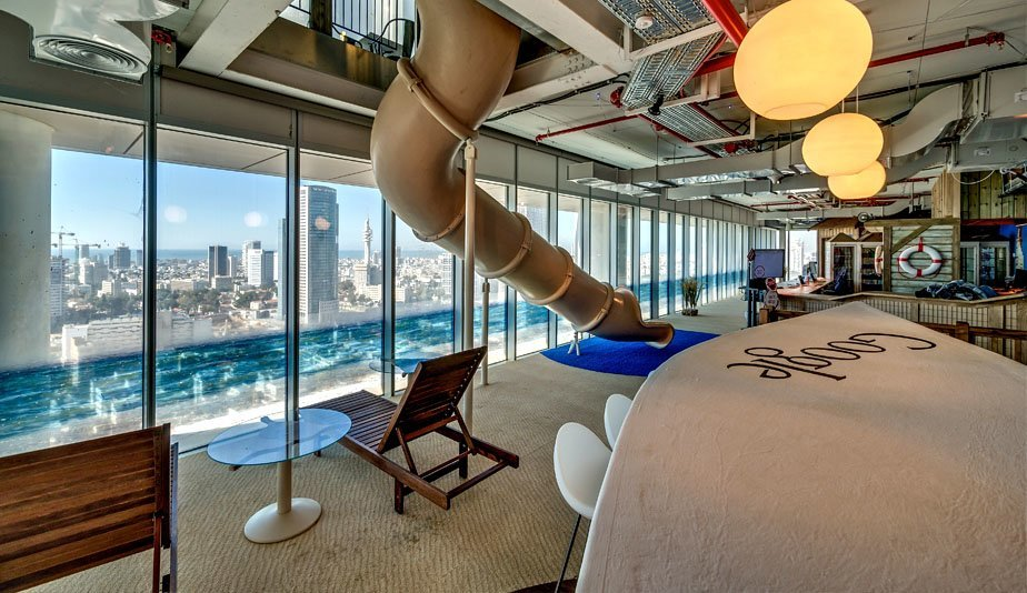 Googles Stunning Tel Aviv Campus Officelovin