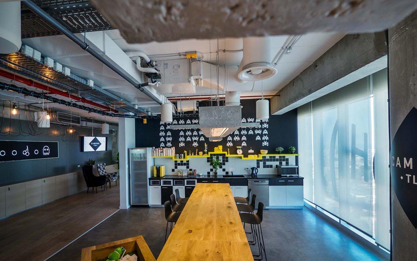 Google S Stunning Tel Aviv Campus Officelovin