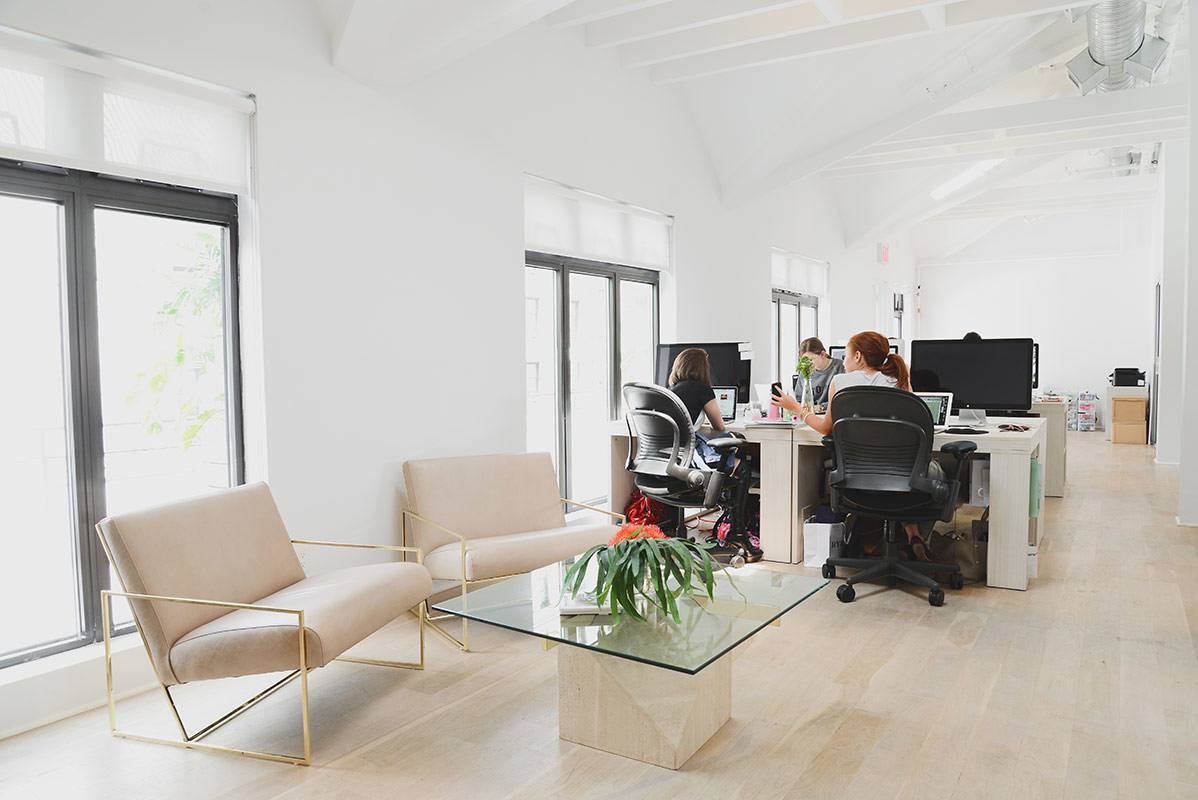 Into The Gloss's New York City Office