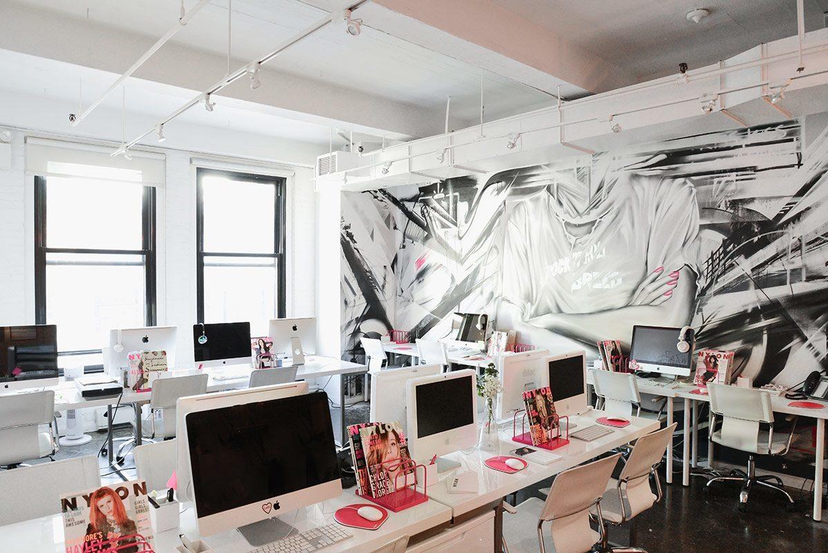 inside nylon magazine s new york city offices officelovin