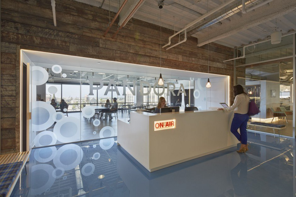 Another Look Inside Pandora's Oakland Headquarters - Officelovin'