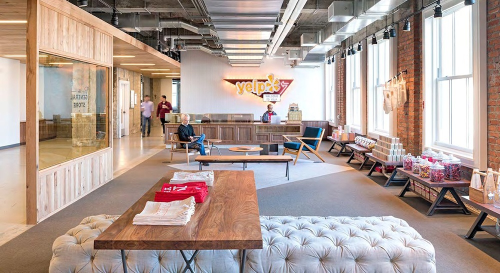 The 15 Coolest Startup And Tech Office Receptions Lobbies