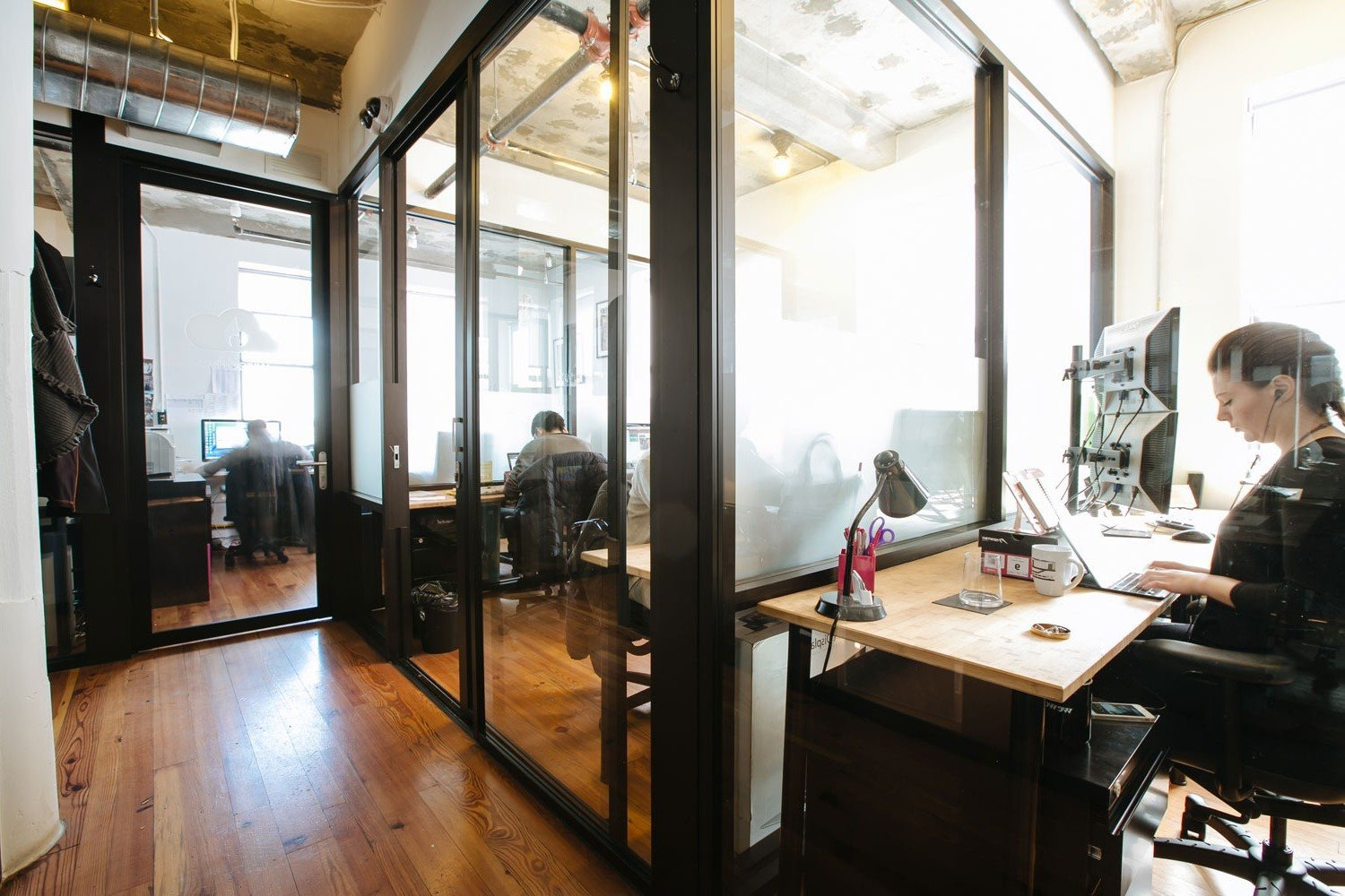 Wework coworking new york s meatpacking district for Office images
